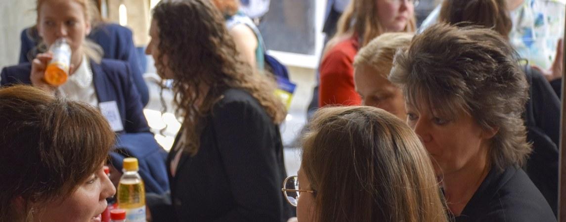 Women in Physics Lunch auf der DPG-Frühjahrstagung in Regensburg