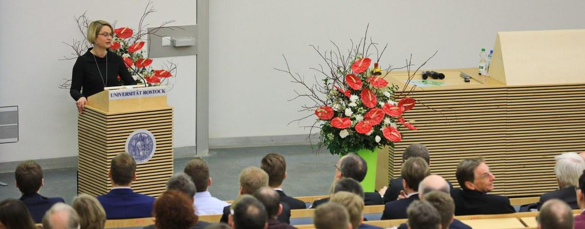 Festakt auf der DPG-Frühjahrstagung in Rostock