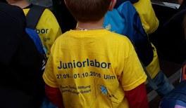 Junge Physiker im Juniorlabor