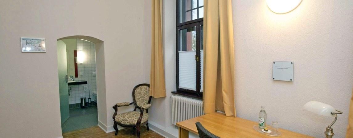 Zimmer im Stiftshaus des Physikzentrum Bad Honnef