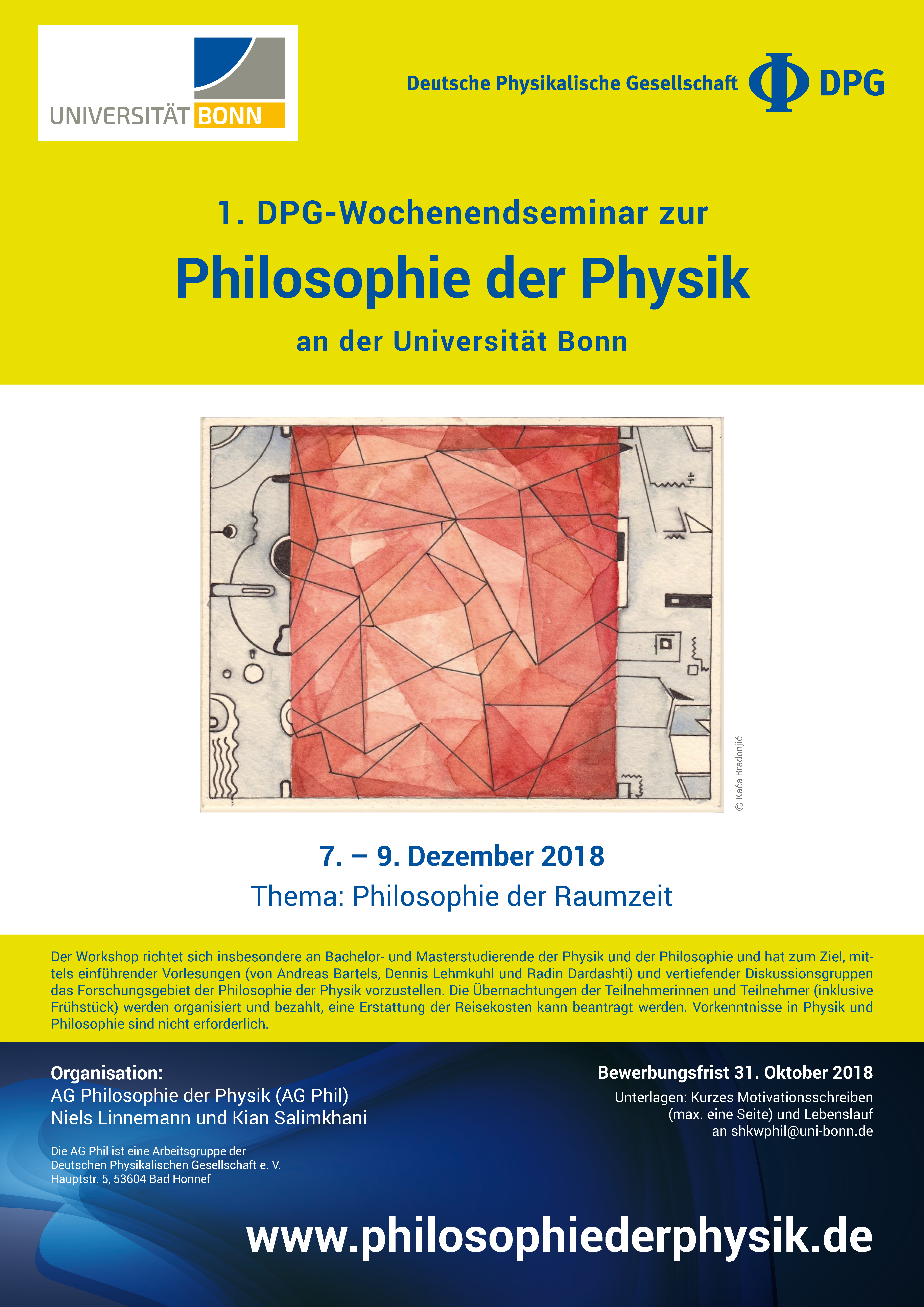 Wochenendseminar: Philosophie der Raumzeit