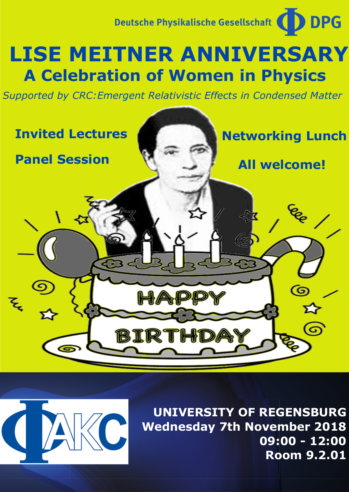 Lise-Meitner Anniversary Regensburg