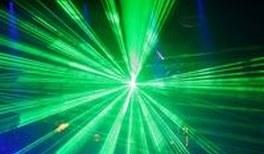 Quantensprung und Laserblitz