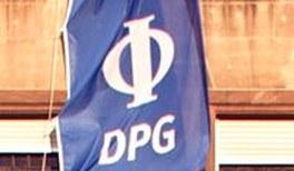 DPG-Geschäftsstelle auf Tagung
