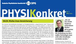 SILEX: Risiko Uran-Anreicherung