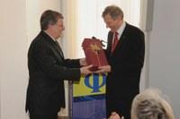 Neuer DPG-Vizepräsident (links) und scheidender DPG-Vizepräsident (rechts)