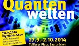 "Wissenschaftsfestival ""Quantenwelten"" begeistert Saarbrücken"