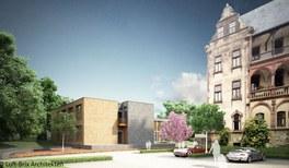 Fototermin: Grundsteinlegung für das neue Gästehaus des Physikzentrums Bad Honnef