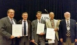 Die DPG gratuliert ihrem Mitglied Hartmut Zohm vom Max-Planck-Institut für Plasmaphysik (IPP) zum John Dawson Award 2014
