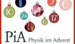 Physik im Advent – Jetzt für PiA anmelden