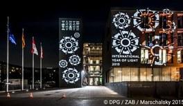 In Deutschland strahlte das Internationale Jahr des Lichts besonders hell