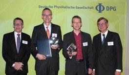 Novaled, IAPP und TU Dresden gewinnen DPG-Technologietransferpreis