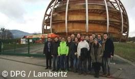 GYPT-Sieger zu Besuch beim CERN