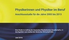 Physikerinnen und Physiker im Beruf