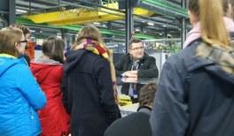GYPT-Vorjahresgewinner zu Besuch beim CERN