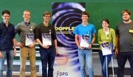 Drei Göttinger und ein Heidelberger gewinnen den bundesweiten Physik-Wettbewerb DOPPLERS