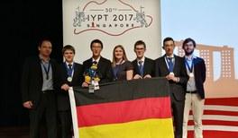 Deutsches Team gewinnt Silbermedaille auf Physik-Weltcup IYPT