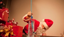 Alle Jahre wieder: Physikalische Experimente im Advent