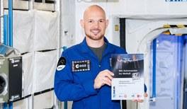 Spannende Experimente mit Astro-Alex im All