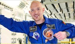 Alexander Gerst erhält Medaille für naturwissenschaftliche Publizistik