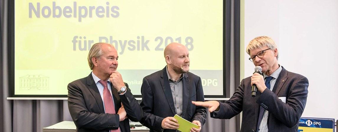 Nobelpreis für Physik 2018