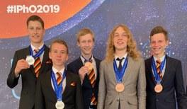 Medaillen für das deutsche Team bei der Internationalen PhysikOlympiade 2019 in Tel Aviv