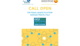 Teilnahmestipendien zur ESOF 2020