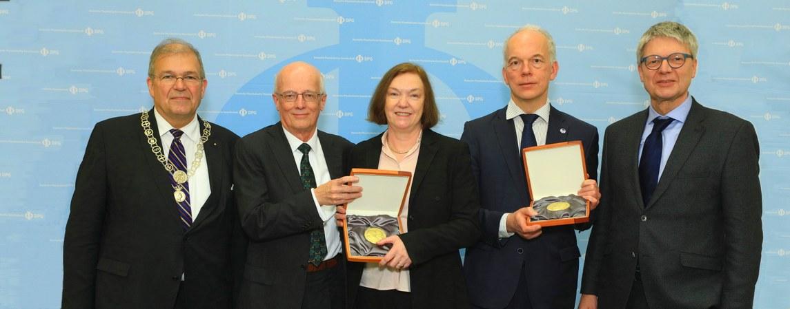 Die höchsten DPG-Auszeichnungen des Jahres 2019