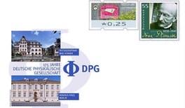 """Gedenkbriefumschlag """"175 Jahre DPG"""""""