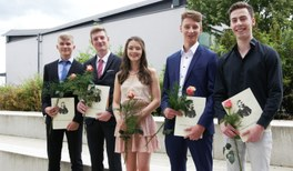 Gratulation zum DPG-Abiturpreis!