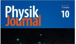 Physik Journal 10/2020