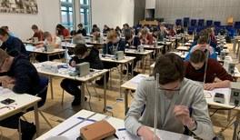 Physikalische Nachwuchstalente bei der PhysikOlympiade in Greifswald