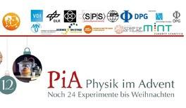 PiA - Physik im Advent: Jetzt anmelden und tolle Preise gewinnen!