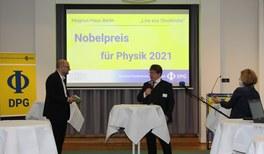 Die Deutsche Physikalische Gesellschaft beglückwünscht Syukuro Manabe, Klaus Hasselmann und Giorgio Parisi zum Nobelpreis für Physik