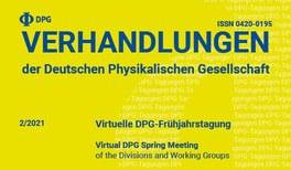 Frühjahrstagung der Deutschen Physikalischen Gesellschaft (DPG) in Dortmund