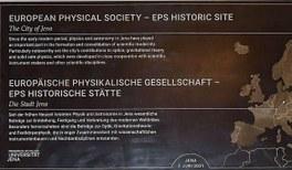 Jena: Historische Stätte der Physik