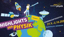 Würzburg feierte Röntgens Geburtstag mit einem großem Physik-Festival und übergibt den Staffelstab an Regensburg